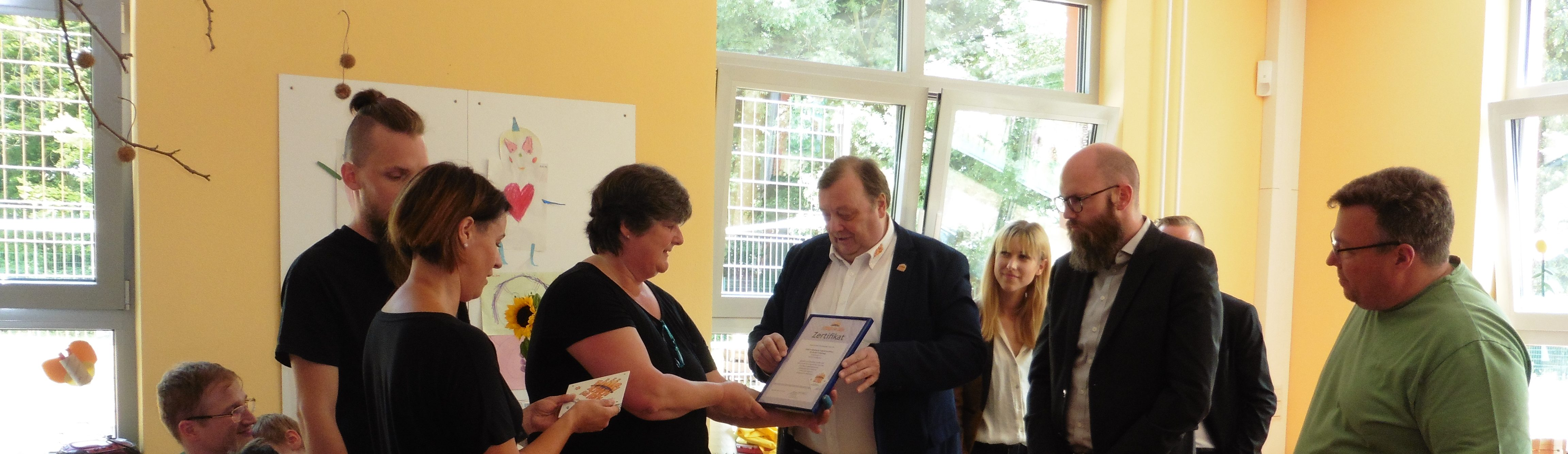 Das FABIDO Familienzentrum Fröbelweg erhält SfK-Zertifikat