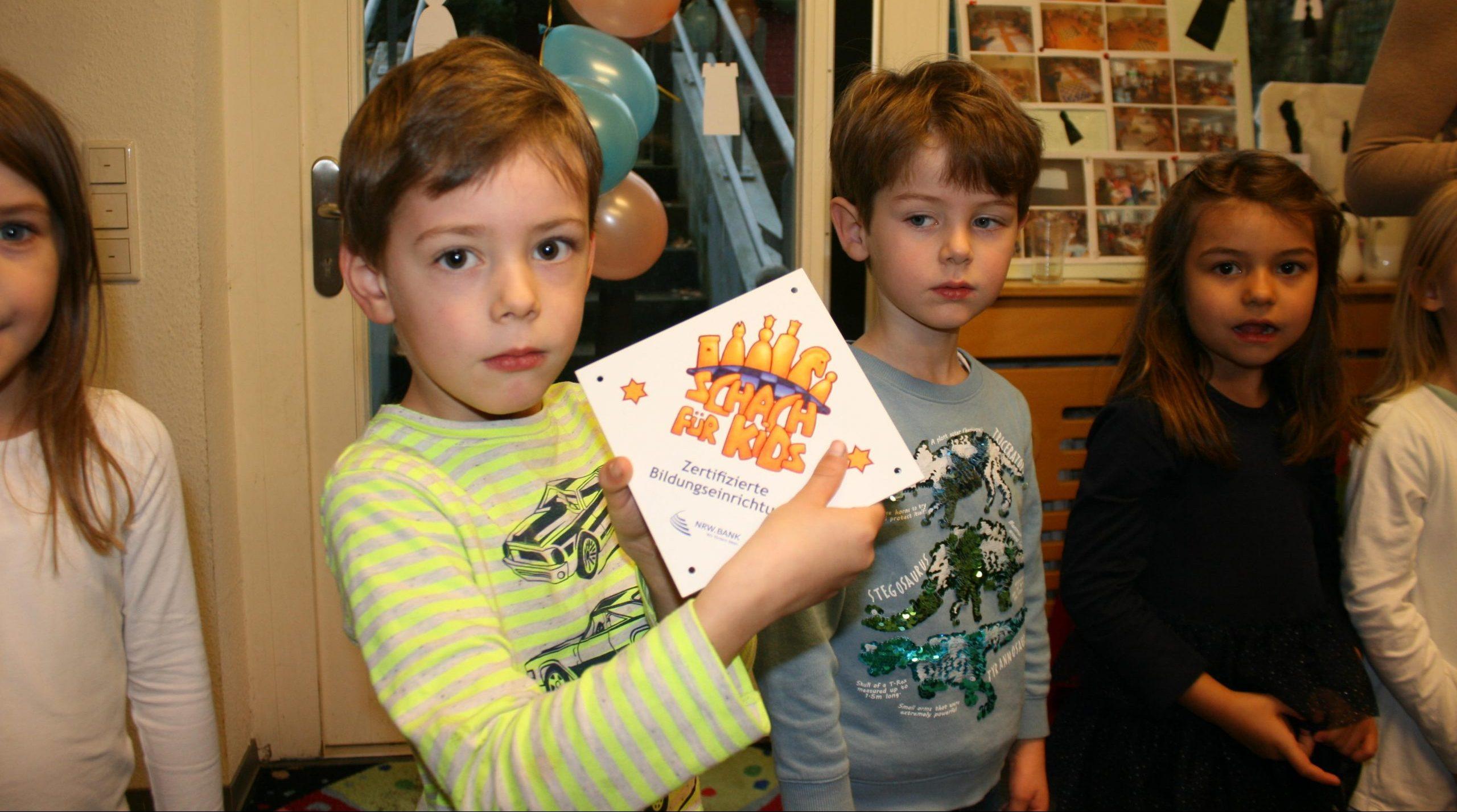 Kinderhaus Kaiserswerth als erste Düsseldorfer Einrichtung zertifiziert