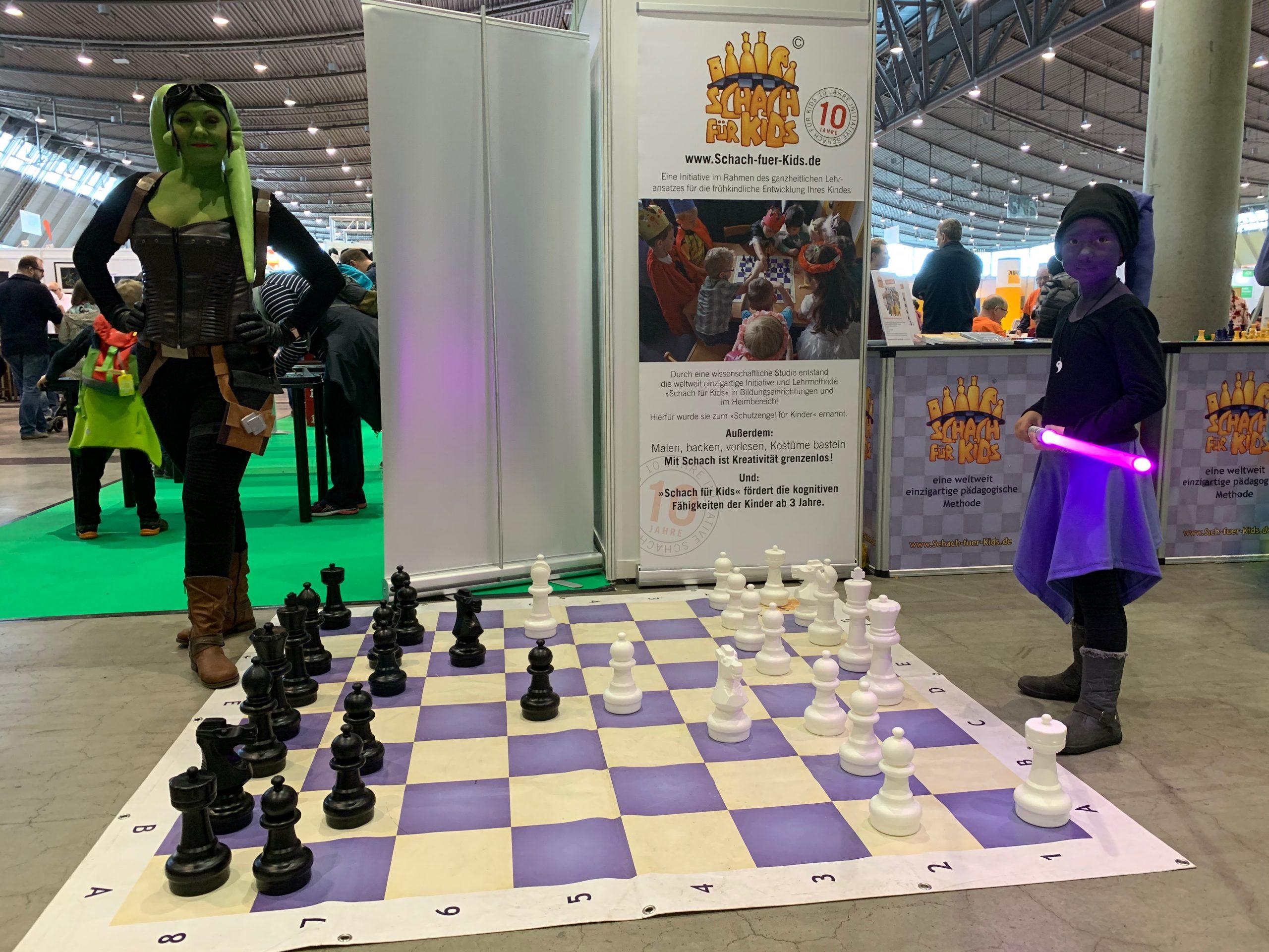 Schach für Kids auf der Spielemesse Stuttgart